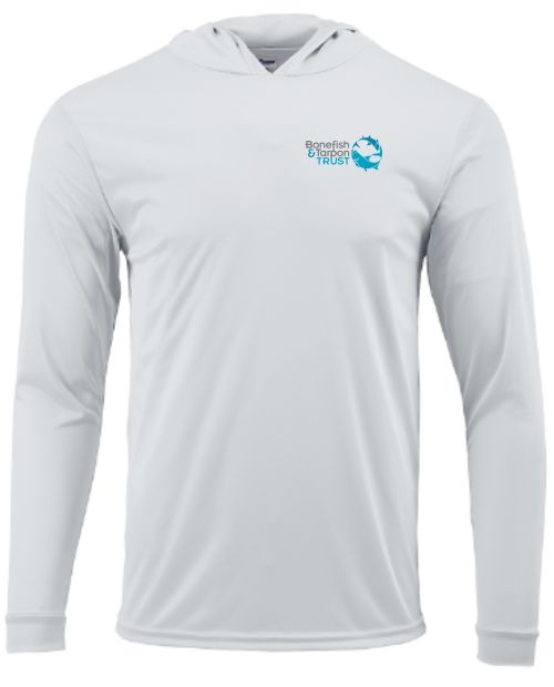 BTT Puckett White Hoodie Shirt - front.jpg